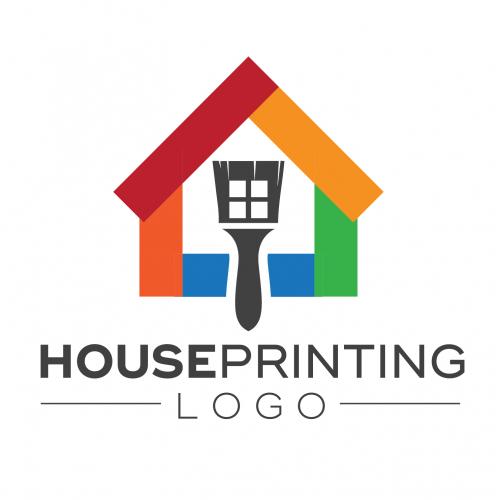 HOUSE PRINTING LOGO