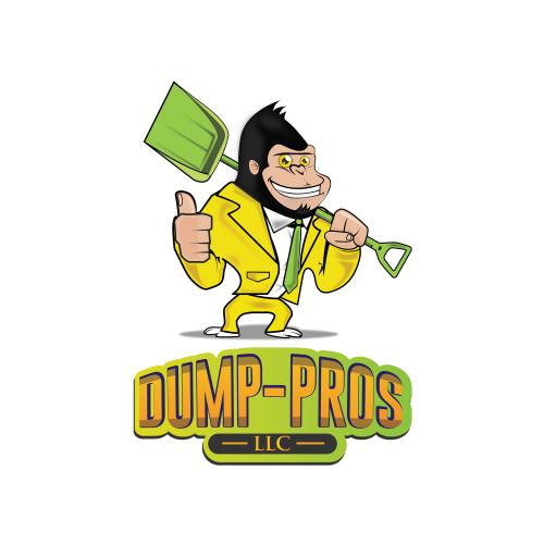 Monkey  Dumping Mascot