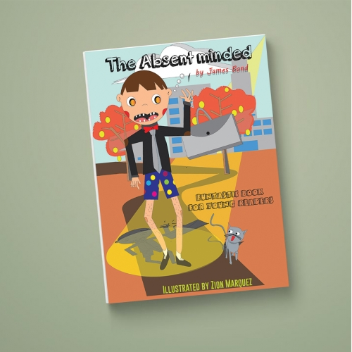 Funtastic Book cover for young readers
