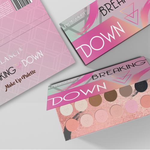 Breaking Down Make Up Palette
