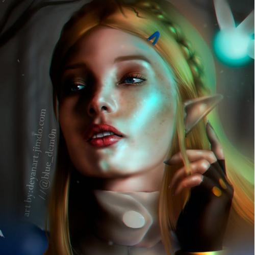 Zelda portrait