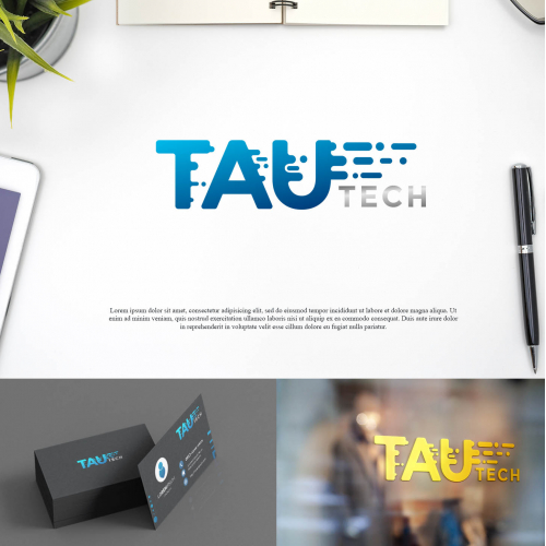 Logo for Tau Tech Company