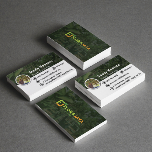 Business Card FloraJaya Owner