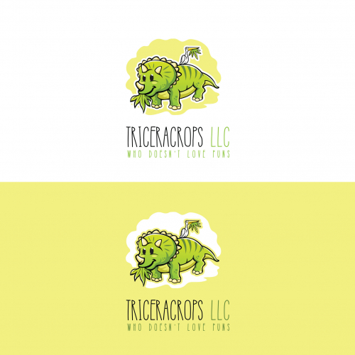 Triceracrop LLC logo proposal