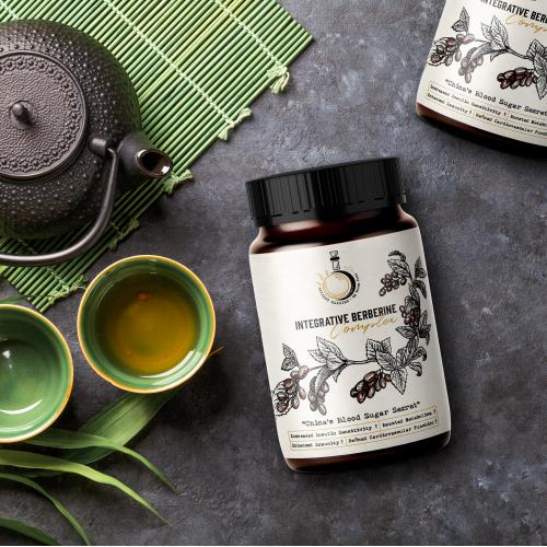 Ancient Elixirs Label Design