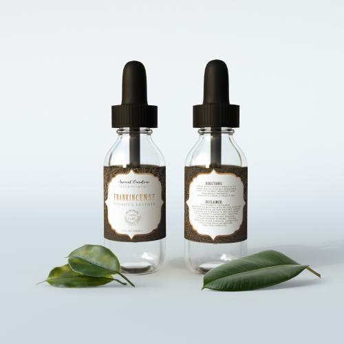 Essential Oils Label design