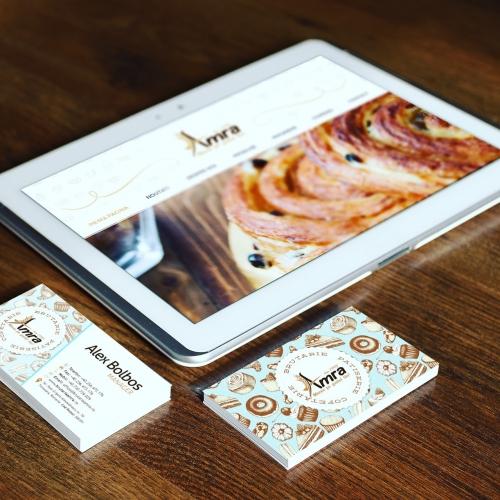 Business Card Design Bakery