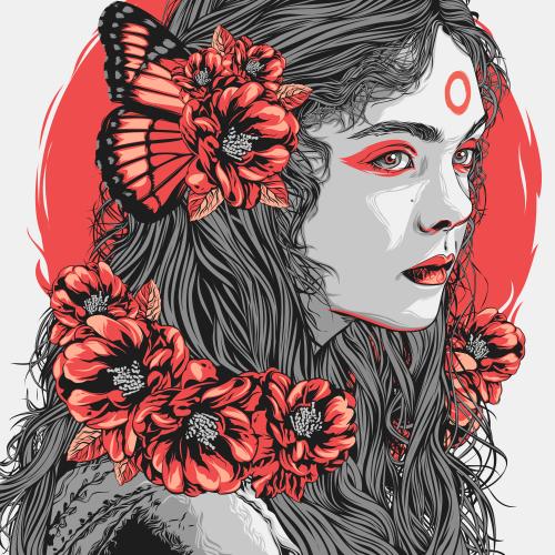 Red Flower, The Women of Ashikaga
