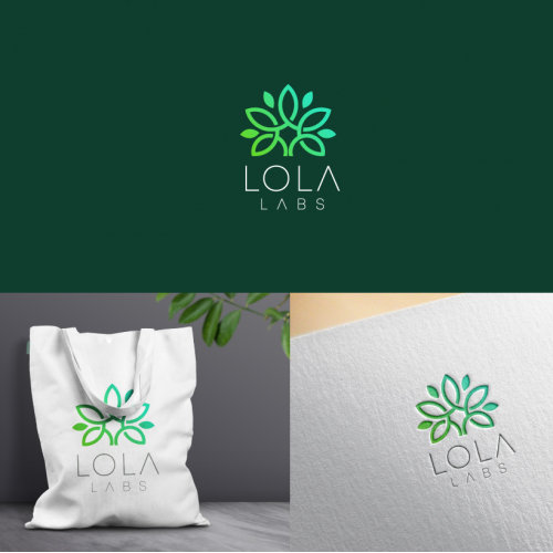 lola labs logo design