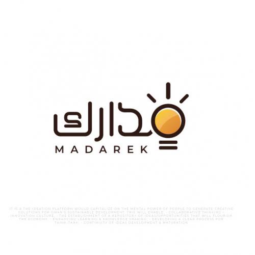 madarek arabic logo