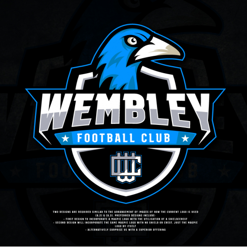Wembley Football Club Logo Design