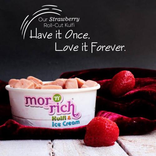 Ice Cream Social Media Poster