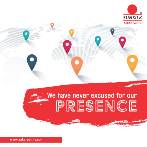 We have never excused for our presence!