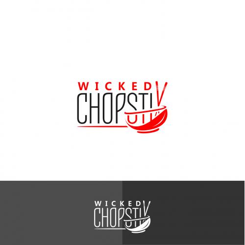 Wicked Chopstix Logo Design
