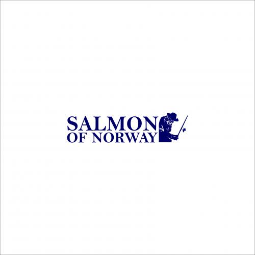 Salmon Of Normay Logo Design