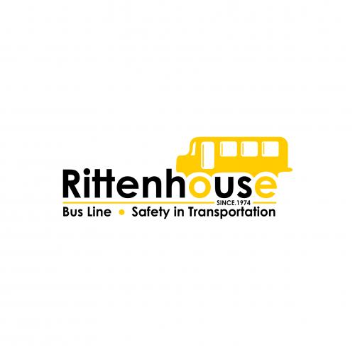 Rittenhouse Bus Lines Creative Logo Design