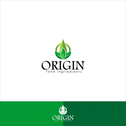 Origin Food Ingridients Logo Design