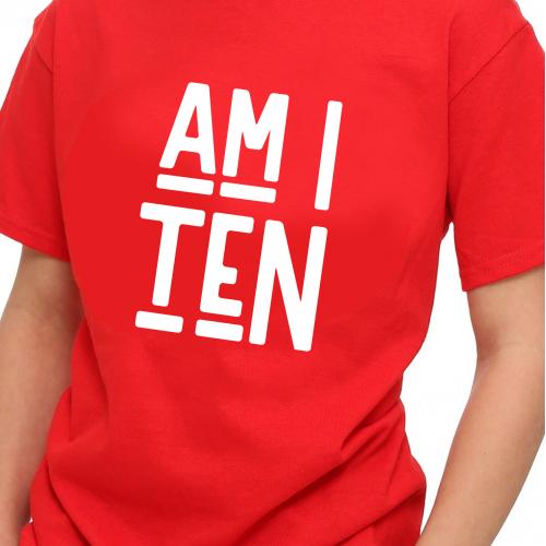 T-Shirt Boy : Am I ten