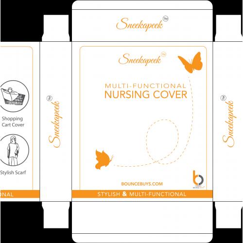 Multi functional nursing cover