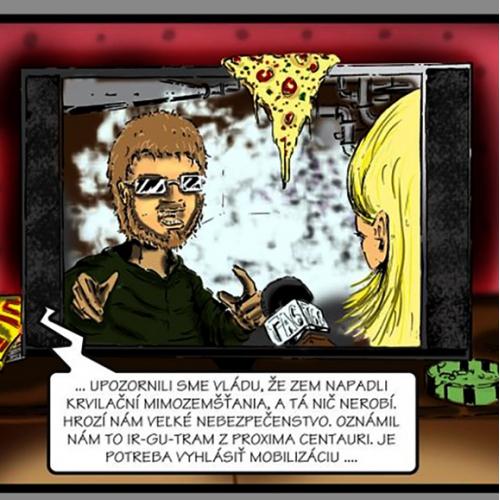 komiks - tv spot