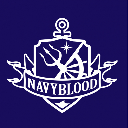 NAVY BLOOD logo