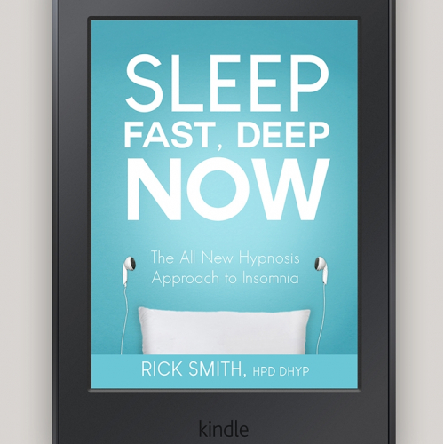 Cover for self-help book on Insomnia and Hypnosis