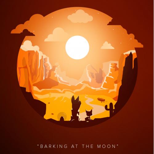 Disney Movie Inspired Illustration