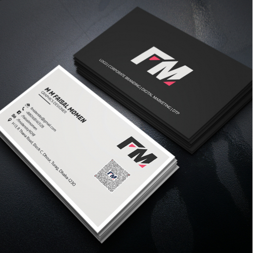 Personal Business Card Design Concept