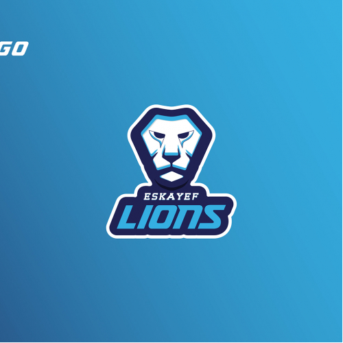 Eskayef Lions Cricket Team Logo