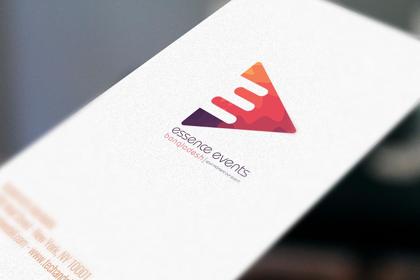 Essence Events Bangladesh Logo Design