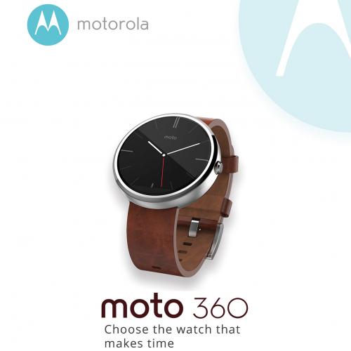 Motorola 360 Smartwatch Poster Design