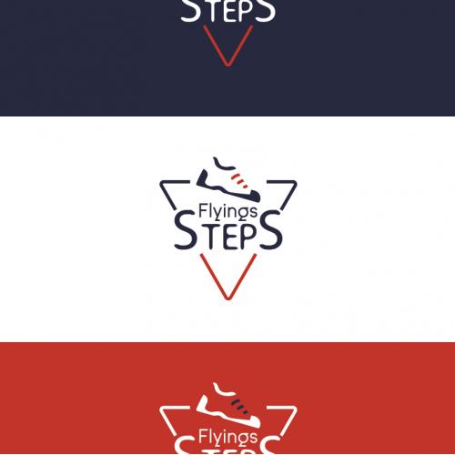 Flyings Steps Logo Design