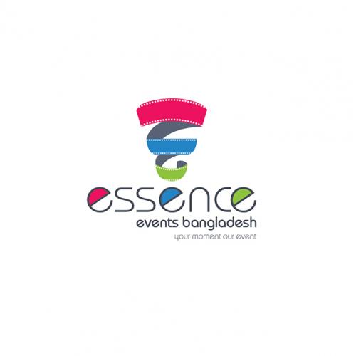Essence Events Bangladesh Logo Concept