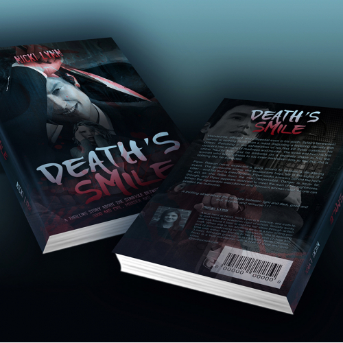 Book Cover Mockup  Collateral Marketing - Death´s Smile 2018