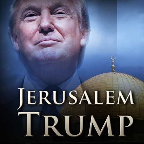 Book Cover - Template 6x9 inches - Jerusalem Trump...