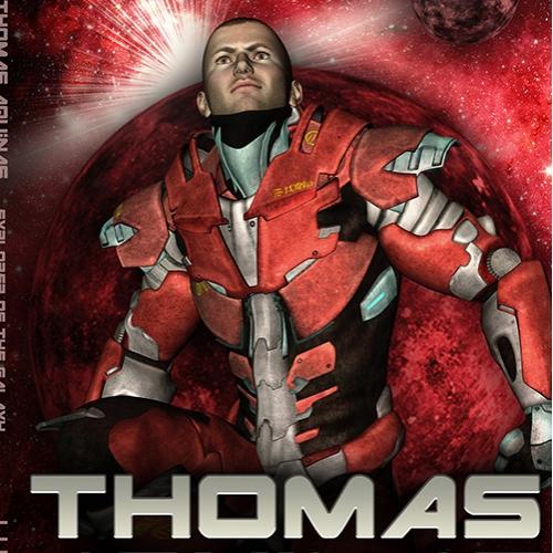 BOOKCOVER - Thomas Aquinas Explorer of the galaxy - CreateSpace Template 6x9_BW_170 - 4.jpg