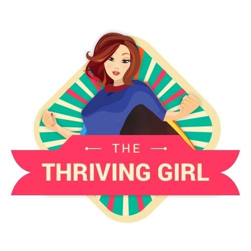 Logo design | The thriving girl