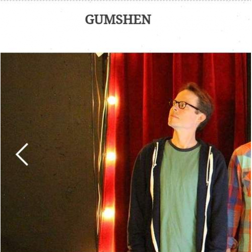 Website for band Gumshen