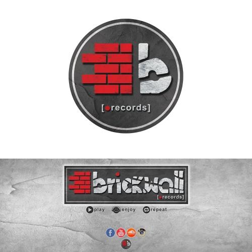 Brickwall Records Facebook Cover and Logo