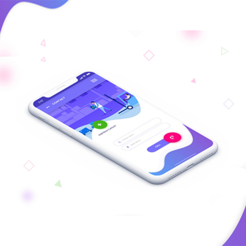 app home page
