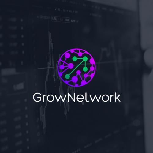 Grow Network Logo Design