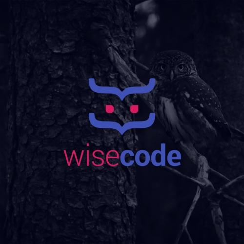 Wise Code Logo Design