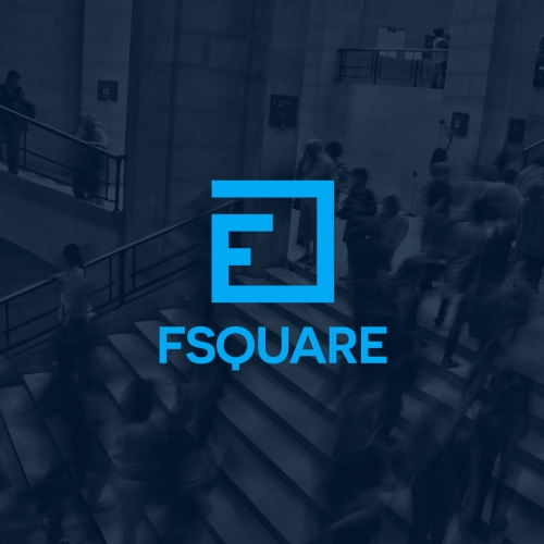 F Square Logo Design
