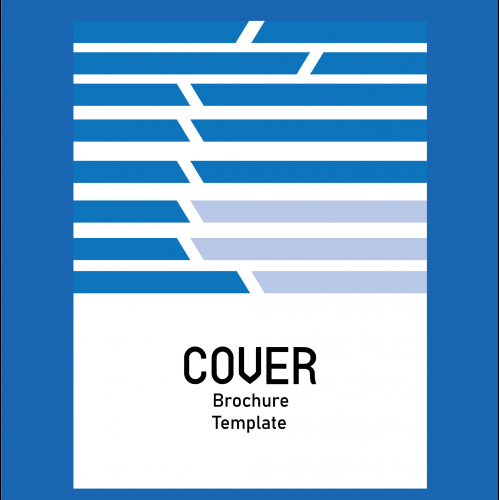 Corporate Business Broucher Cyan Color