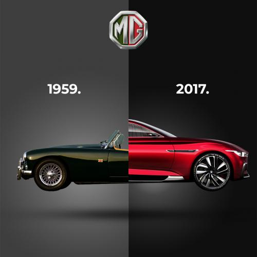 Mg motors ad design
