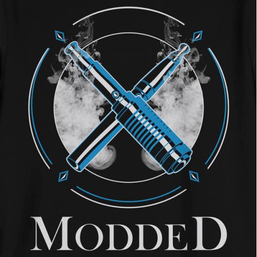 Vape Lifestyle Apparel (MODDED) - T-Shirt Design
