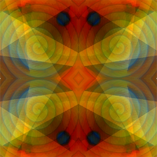 Seamless Light and Colors Blend Pattern