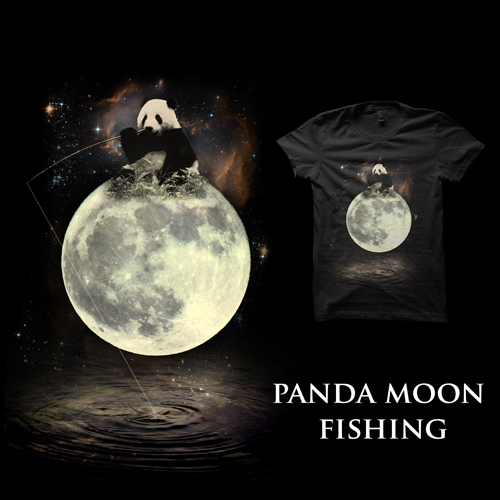 Panda Moon Fishing