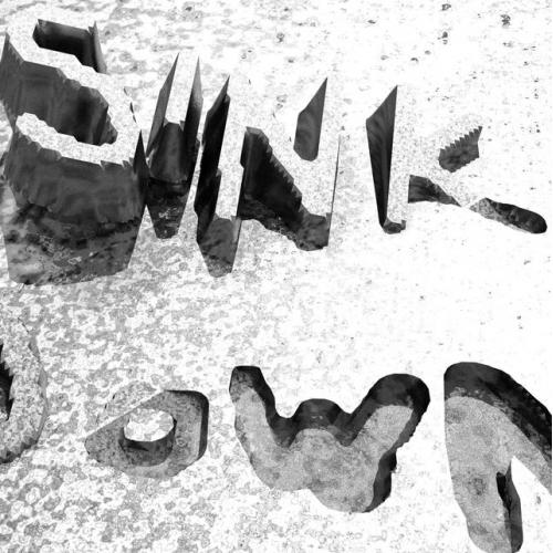 Sink down