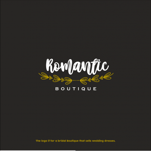 Romantic Boutique Luxury Logo